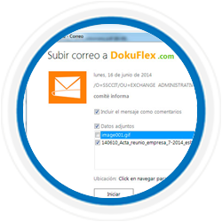 Addons Dokuflex Outlook