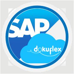 Dokuflex intercambia información con los sistemas de gestión ERP como SAP
